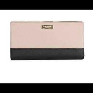 Kate Spade black/tan wallet